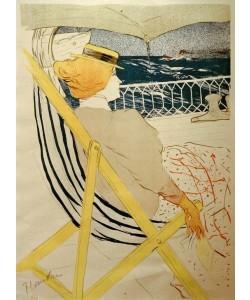 Henri de Toulouse-Lautrec, Die Reisende von Kabine 54