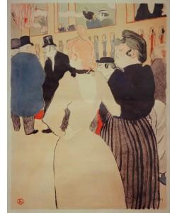 Henri de Toulouse-Lautrec, Au Moulin Rouge: La Goulue et sa soeur