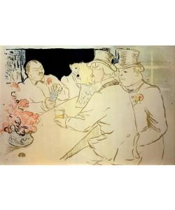 Henri de Toulouse-Lautrec, Irish American Bar oder The Chap Book