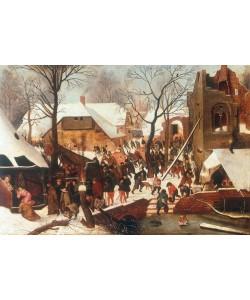 Pieter Brueghel der Jüngere, Anbetung der Könige