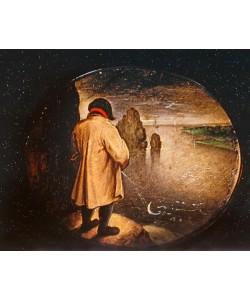 Pieter Brueghel der Jüngere, Der Mann, der auf den Mond pißt