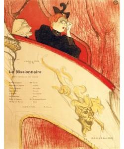 Henri de Toulouse-Lautrec, La loge au mascron doré
