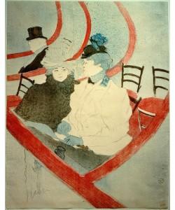 Henri de Toulouse-Lautrec, La grande loge