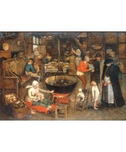 Pieter Brueghel der Jüngere, Besuch beim Mündel