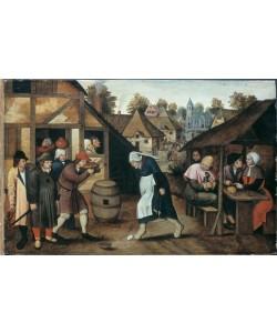 Pieter Brueghel der Jüngere, Der Eiertanz
