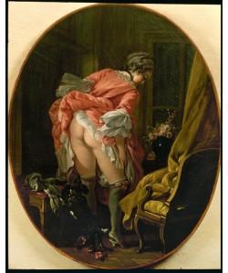 Francois Boucher, La jupe révélée