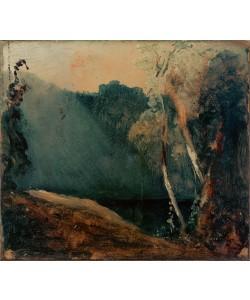 Karl Blechen, Wald und See