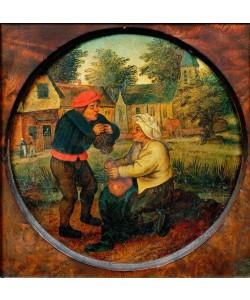 Pieter Brueghel der Jüngere, Nicht identifziertes Sprichwort