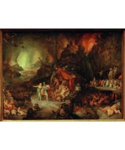 Jan Brueghel der Ältere, Aeneas und Sibylle in der Unterwelt