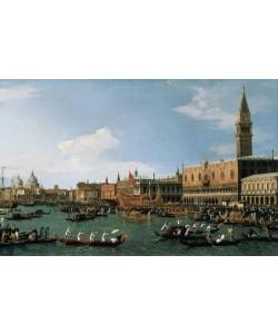 Giovanni Antonio Canaletto, Return of Il Bucintoro on Ascension Day