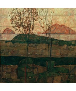 Egon Schiele, Versinkende Sonne