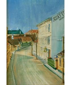 Egon Schiele, Die Albrechtstraße