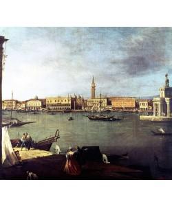 Giovanni Antonio Canaletto, Dársena de San Marcos desde la Giudeca