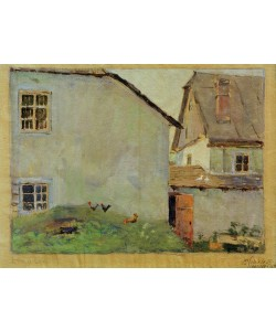 Egon Schiele, Bauernhäuser
