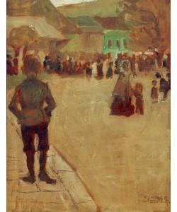 Egon Schiele, Vor dem Leopolditag in Klosterneuburg