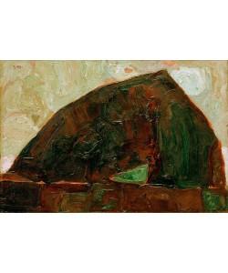 Egon Schiele, Berg am Fluß