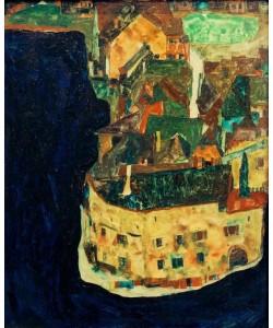 Egon Schiele, Stadt am Blauen Fluß II