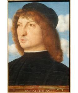 Giovanni Bellini, Bildnis eines Venezianers