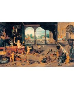 Jan Brueghel der Ältere, Vanitas