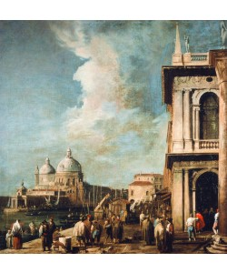 Giovanni Antonio Canaletto, Piazzetta looking towards the Salute