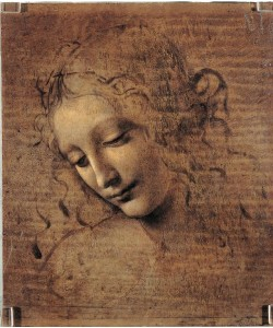 Leonardo da Vinci, Frauenkopf