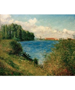 Gustave Caillebotte, La Seine à Argenteuil