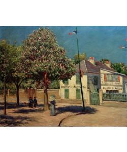 Gustave Caillebotte, La promenade à Argenteuil