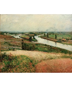 Gustave Caillebotte, La Seine à la pointe d'Epinay