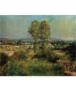 Gustave Caillebotte, Paysage à Argenteuil