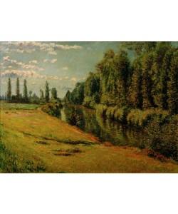 Gustave Caillebotte, Le petit bras de la Seine à Argenteuil