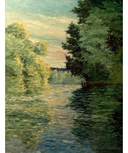 Gustave Caillebotte, Le petit bras de la Seine près d'Argenteuil