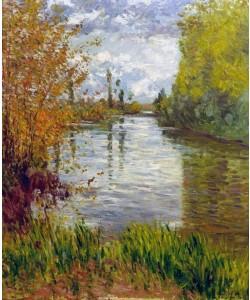Gustave Caillebotte, Le petit bras de la Seine en automne