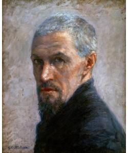 Gustave Caillebotte, Portrait de l'artiste