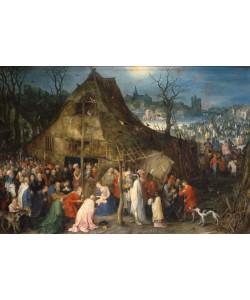 Jan Brueghel der Ältere, Die Anbetung der Könige