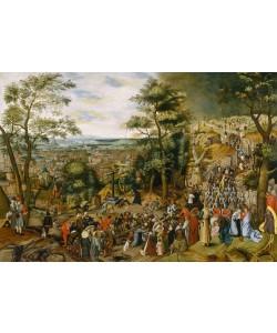 Pieter Brueghel der Jüngere, Kreuztragung