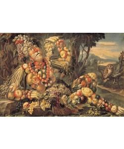Giuseppe Arcimboldo, Der Herbst