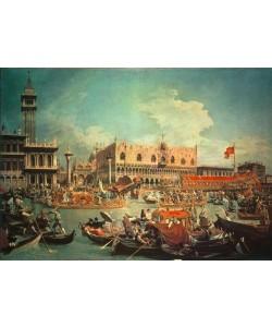 Giovanni Antonio Canaletto, Die Rückkehr des Bucentaurs