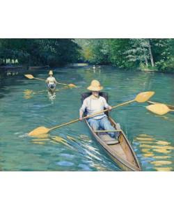 Gustave Caillebotte, Skiffs