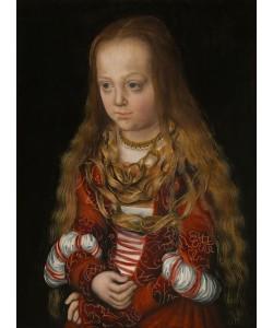 Lucas Cranach der Ältere, Eine Prinzessin von Sachsen