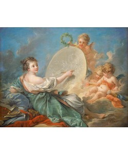 Francois Boucher, Allegory of Painting