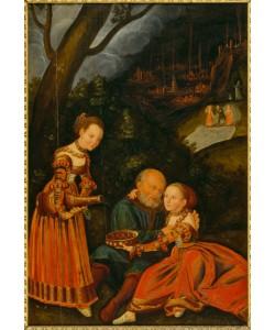 Lucas Cranach der Ältere, Lot und seine Töchter