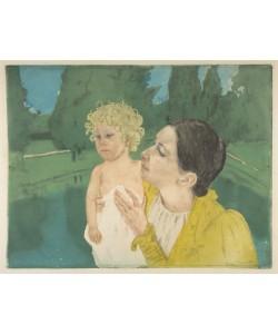 Mary Cassatt, By the Pond