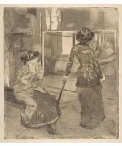Mary Cassatt, Mary Cassatt at the Louvre