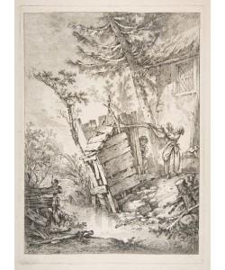 Francois Boucher, The Laundress