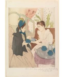 Mary Cassatt, Afternoon Tea Party