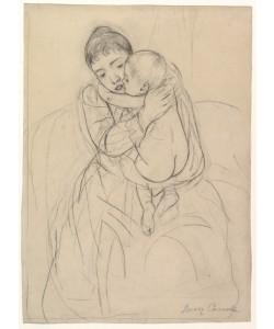 Mary Cassatt, Maternal Caress