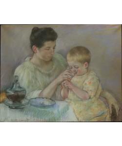 Mary Cassatt, Mother Feeding Child