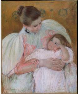 Mary Cassatt, Nurse and Child