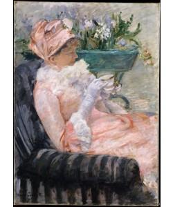 Mary Cassatt, Die Tasse Tee
