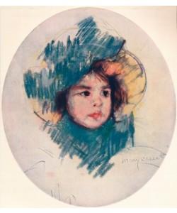 Mary Cassatt,Child's Head 1902